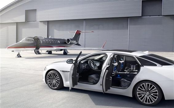 壁紙 ジャガースーパーカー、飛行機