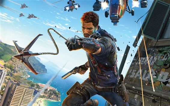 Wallpaper Just Cause 3