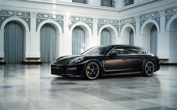 Обои 2015 Porsche Turbo S автомобилей класса люкс