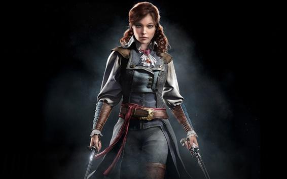 Fondos de pantalla Assassins Creed: La unidad, Eliza, chica