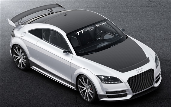 Wallpaper Audi TT Ultra quattro concept car