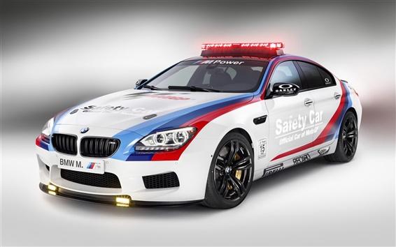 Papéis de Parede Carro de segurança BMW M6