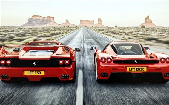 フェラーリ赤い