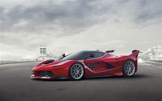 Обои Ferrari FXX K Посмотреть суперкар сторона