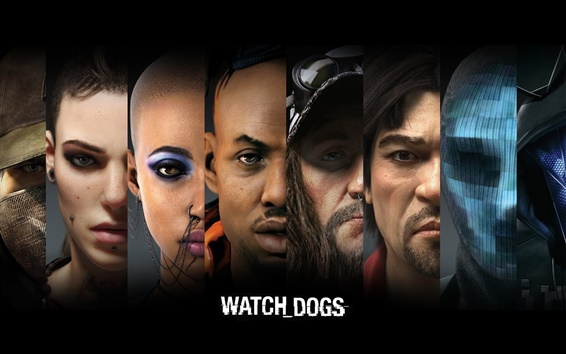 Wallpaper Watch Dogs, PC game HD