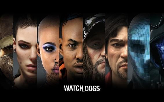 Hintergrundbilder Watch Dogs, PC-Spiel HD