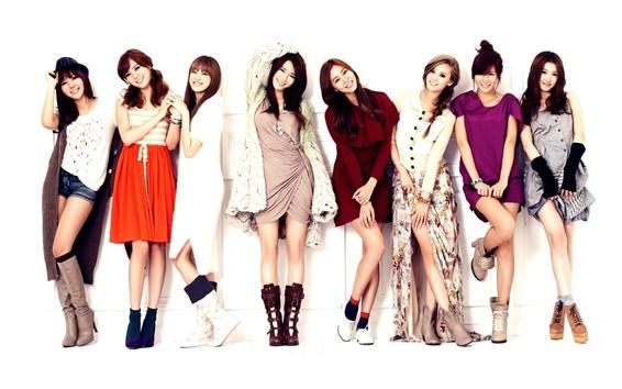 Обои После школы, Корея восемь девушек