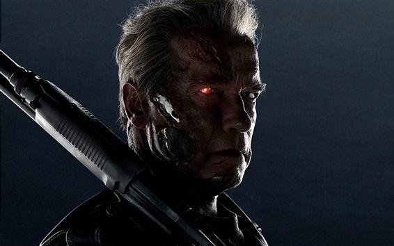 Wallpaper Arnold Schwarzenegger, Terminator: Genisys