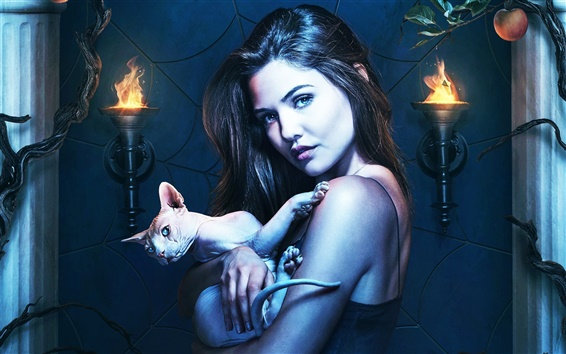 Fondos de pantalla Danielle Campbell, The Originals