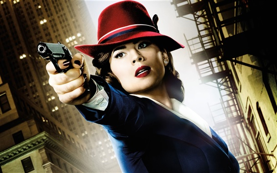 Wallpaper Hayley Atwell, Agent Carter