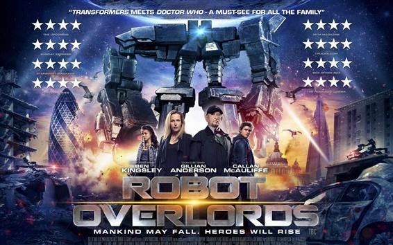 Wallpaper Robot Overlords