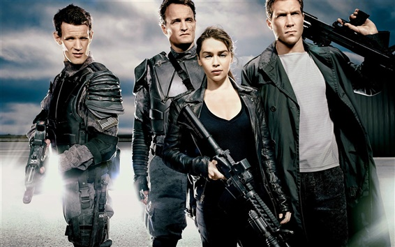 Fondos de pantalla Terminator: Genesis HD