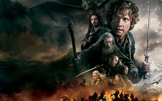 Wallpaper The Hobbit: The Battle of the Five Armies
