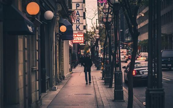 Обои Торонто, Wellington Street, Канада
