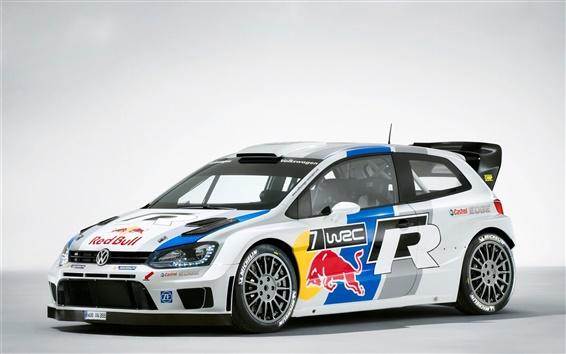 Wallpaper Volkswagen Polo WRC 2013 rally car