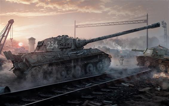 Wallpaper World of Tanks, Wargaming Net