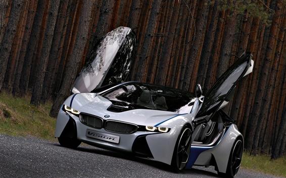 Wallpaper BMW concept car, beautiful, wings