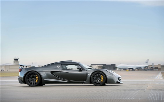 Wallpaper Hennessey Venom GT supercar