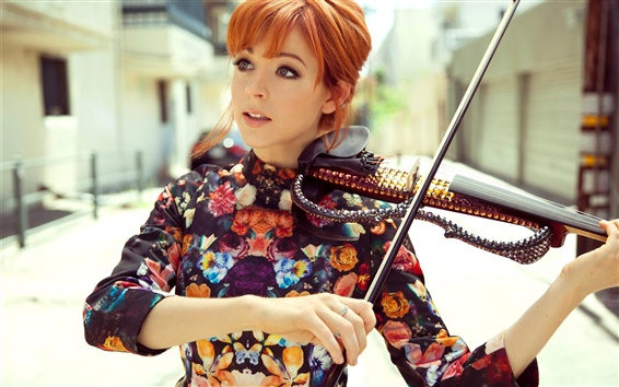 Обои Lindsey Stirling 01