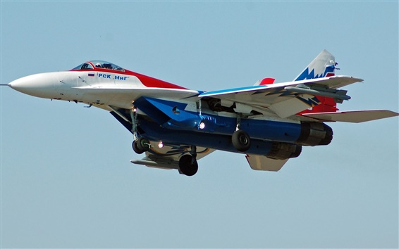 Wallpaper MiG-29 fighter, flight