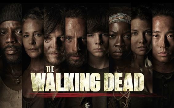 Fond d'écran La série TV Walking Dead
