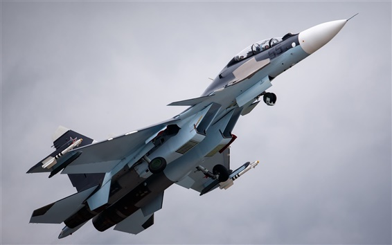 Wallpaper Aircraft, Su-30 fighter