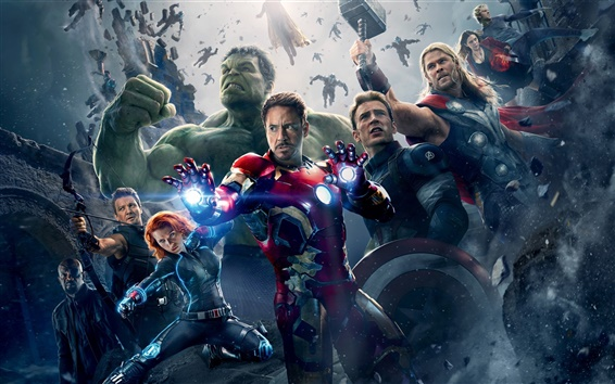 Wallpaper Avengers: Age of Ultron 2015