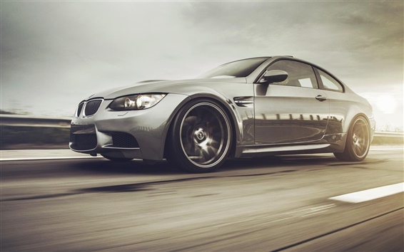 Wallpaper BMW M3 E92 335i car speed