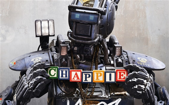 Wallpaper Chappie 2015 movie