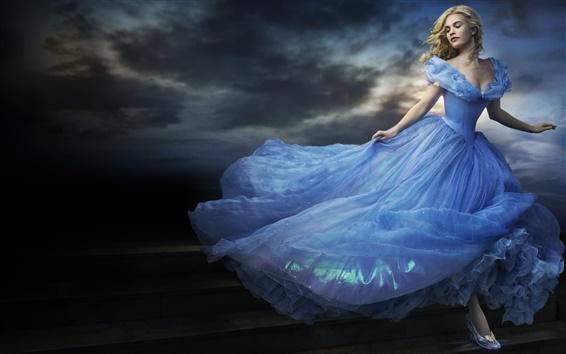 Hintergrundbilder Cinderella 2015 Film, Lily James