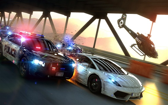Wallpaper Need For Speed: Most Wanted, game HD