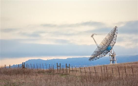 Wallpaper Radio Telescope, Stanford University, California