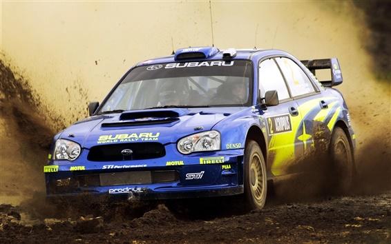 Обои Subaru Impreza Rally, Dirt