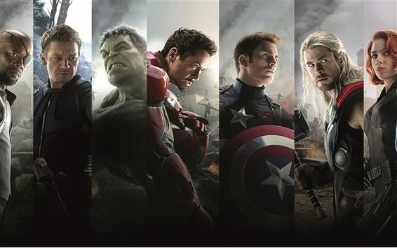 Wallpaper 2015 Marvel movie, Avengers 2