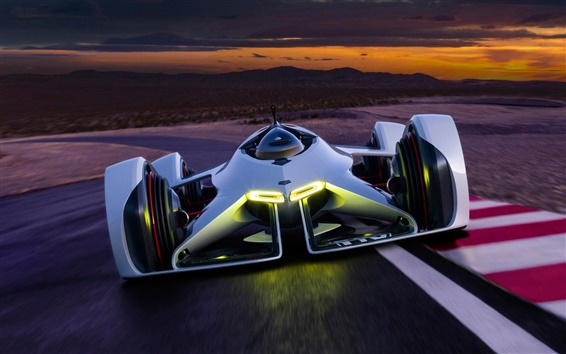 Wallpaper Chevrolet GT concept race car