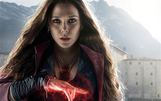 Wallpaper Elizabeth Olsen, Avengers: Age of Ultron