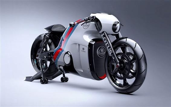 Wallpaper Lotus C-01 motorcycle
