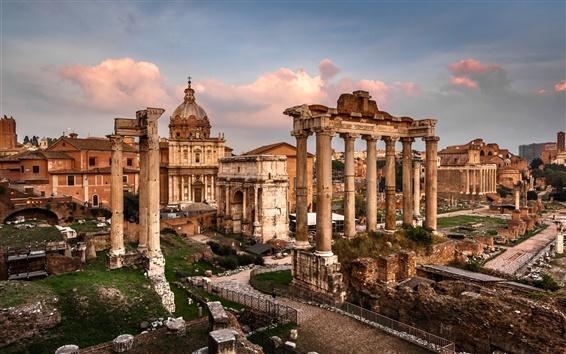 Fondos de pantalla Foro Romano, Italia, ruinas