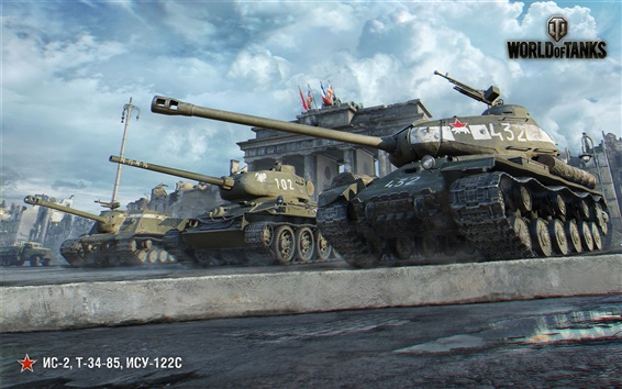 Обои Мир Танков, Берлин, игра HD