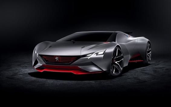 Papéis de Parede 2015 Peugeot conceito supercarro