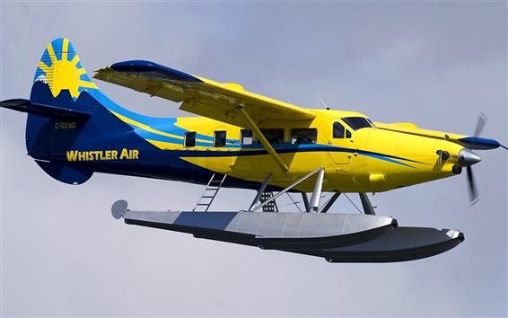 Fondos de pantalla Avión anfibio, cielo, vuelo