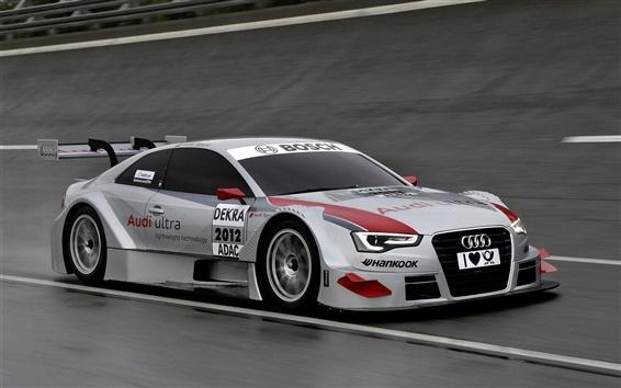 Обои Audi A5 DTM суперкар, скорость