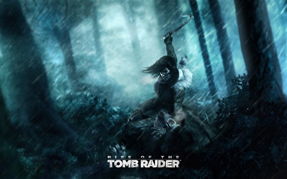 Fond d'écran Lara Croft, Rise of the Tomb Raider