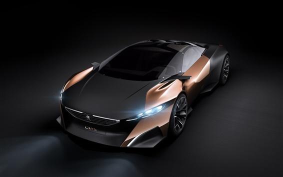 Обои Peugeot Onyx Concept суперкар