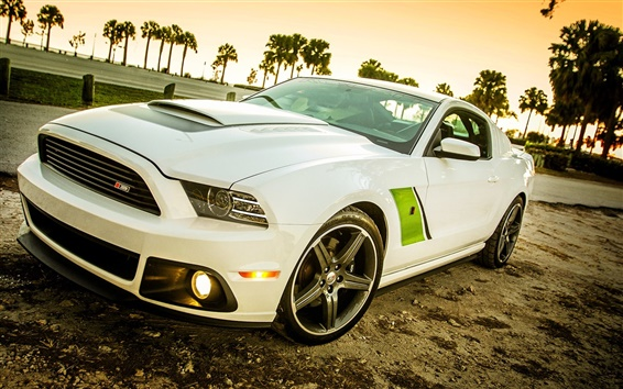 Wallpaper Roush Stage 3 Ford, Mustang, 2009