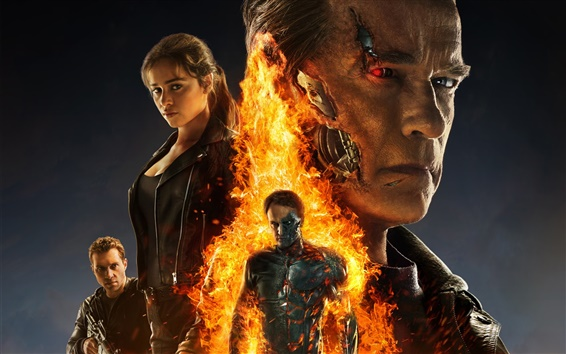 Wallpaper 2015 movie, Terminator: Genisys