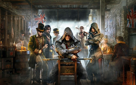 Wallpaper Assassin's Creed: Syndicate, PC game