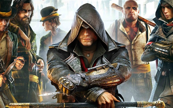 Fond d'écran Assassin 's Creed: Syndicate, conférence