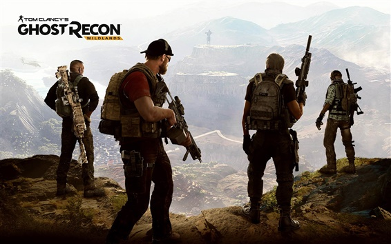 Wallpaper Ghost Recon: Wildlands