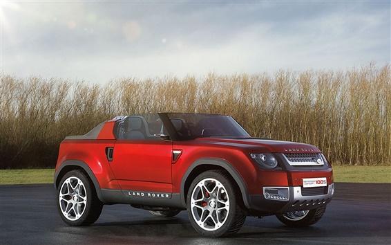 Обои Land Rover концепт-кар